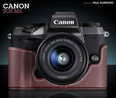 Canon Eos M5 Only Canon M5 Eos M5 canon eos m5 review review avhub