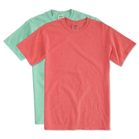 comfort color t shirt colors custom comfort colors 100 cotton t shirt design