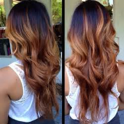 hair color on top light on bottom the latest brown ombre hair colors at blog vpfashion com