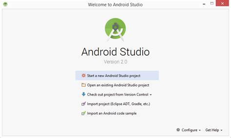 android studio version crear un proyecto en android studio 2 0 scripting and security jesusninoc