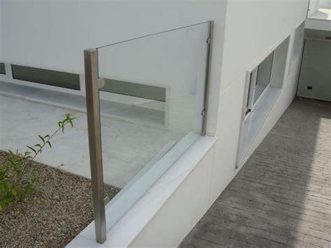 barandillas de acero inoxidable y cristal barandillas met 225 licas de acero inoxidable aluminio y