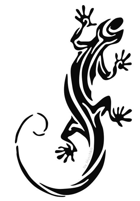 tribal lizard tattoos tribal lizard stencils yin yang tattoos