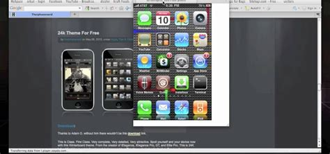 how to install themes for iphone 5 how to install a 24k iphone theme w ssh via mobile