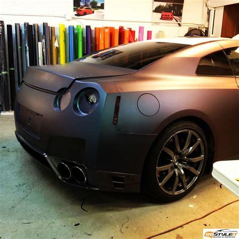 matte purple chameleon gtr vehicle customization shop vinyl car wrap car wrap in toronto