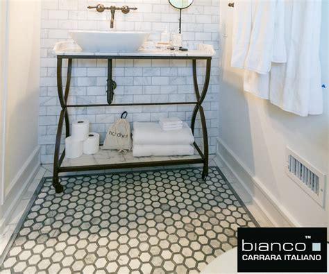 How To Install Glass Mosaic Tile Kitchen Backsplash carrara carrera bianco honeycomb hexagon honed marble mosaic