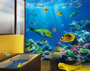 Underwater Wall Mural Underwater World Photo Wallpaper Wall Mural 300cmx280cm