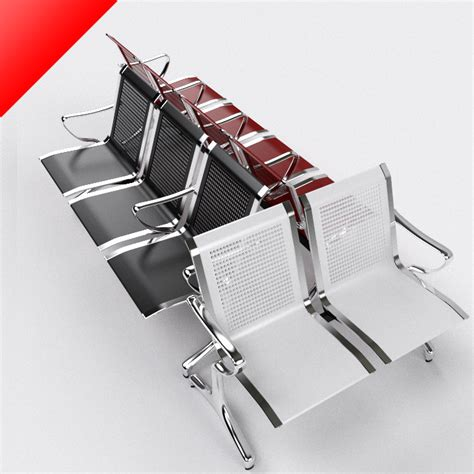 waiting area chairs 3d model waiting chairs 3d model