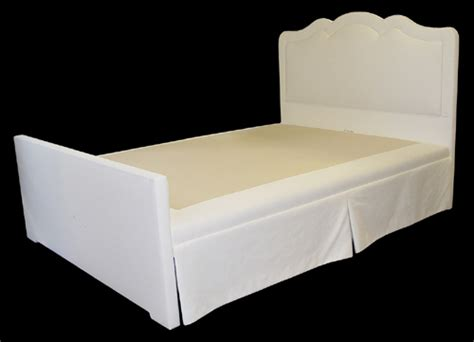 Bedskirt For Bed With Footboard by Charles H Beckley Inc