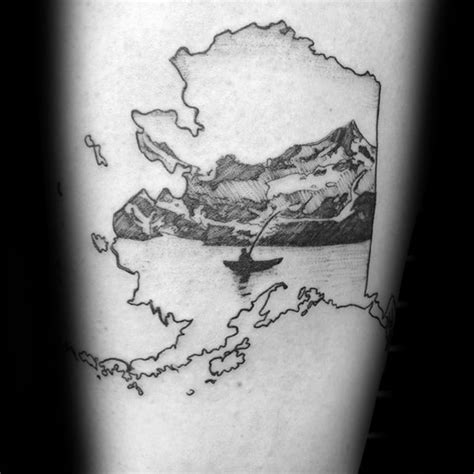 alaska tattoo designs 40 canoe designs for kayak ink ideas