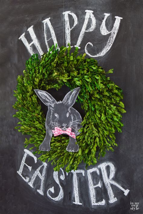 Painting And Decorating Tips 3d easter chalkboard art in my own style