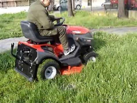trattorini da giardino usati trattorino rasaerba castelgarden xx 220 hd nuovo