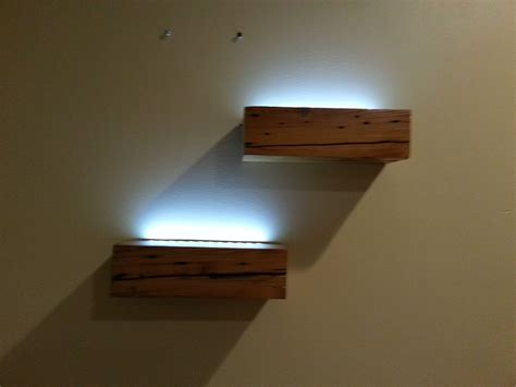 floating shelves with lights shelves magnificent floating shelves with lights