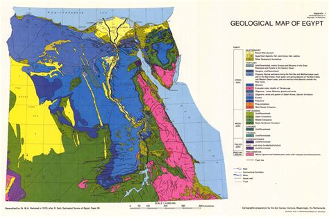 geological map of appendix 1 soil survey papers no