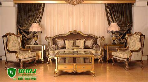 Kursi Tamu Mewah kursi tamu sofa mewah modern klasik ukiran jepara wali