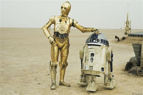 Star Wars Wall Mural star wars r2 d2 and c 3po wall mural amp photo wallpaper