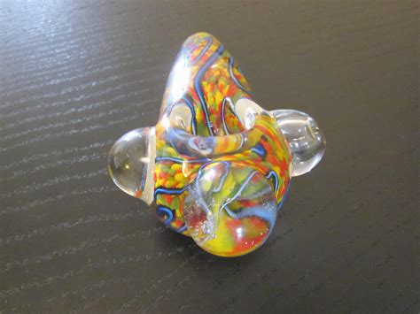 Handmade Glass Pipes - great yellow color handmade glass pipe pipes for
