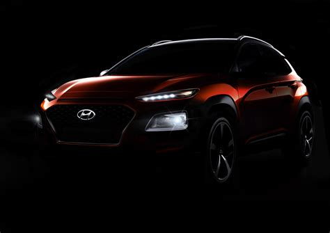 teaser car hyundai kona basically revealed in teaser images