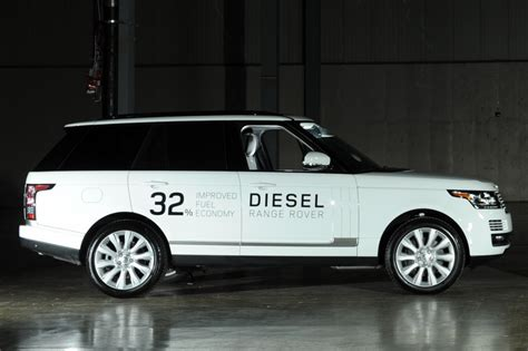 diesel range rover range rover launches two diesel models at detroit auto