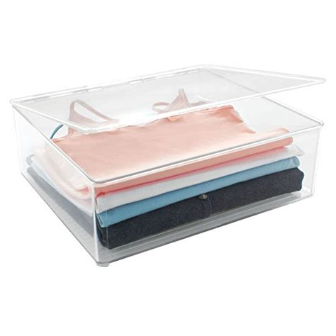 Bins Blouse by Interdesign 77230 Interdesign Closet Binz Stackable Box