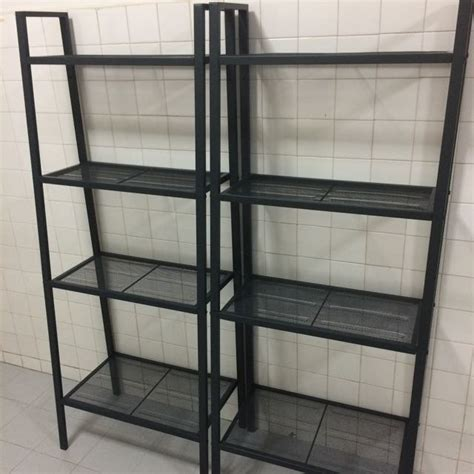 Ikea Lerberg ikea lerberg shelf black used home furniture on