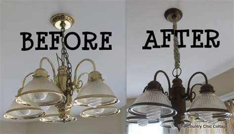 Spray Paint Light Fixture How To Spray Paint Your Light Fixtures The Country Chic Cottage