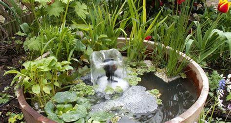 laghetto giardino fai da te fai da te laghetto in miniatura bakker