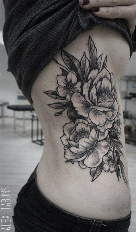 this but all white rib tattoo this is seriously so cool 100 of most beautiful floral tattoos ideas tattoo