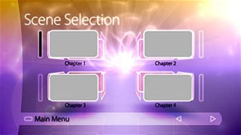 encore dvd menu templates free dvd motion menu template adobe encore retro