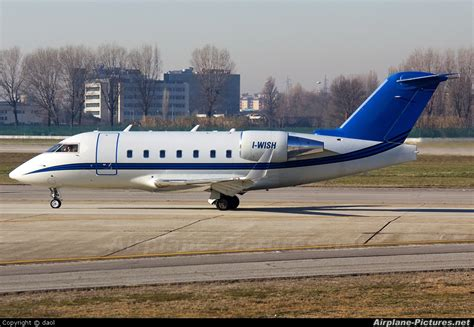 Wish Cl i wish canadair cl 600 challenger 604 at milan linate photo id 112541 airplane