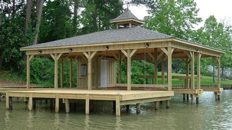 boat house designs plans lake docks design high tide docks introduction lake sinclair docks and boathouses