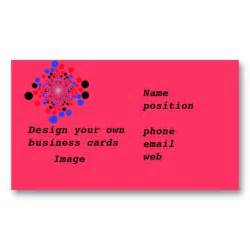 how to design your own business cards in word business cards design your own