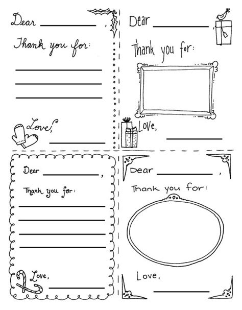 printable colouring postcards kids coloring thank you cards free printable kids