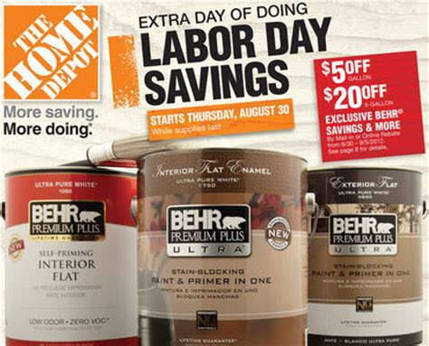 home depot labor day weekend deals