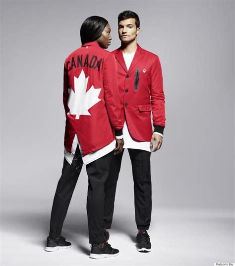 canadian olympic team unveils new uniforms for 2016