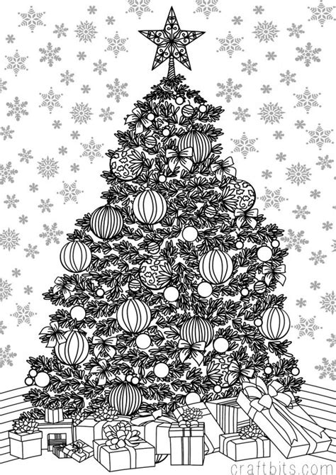 google printable christmas adult ornaments snowflake coloring pages search coloring pages tree