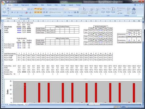 room measurement calculator calculate room acoustic measurements