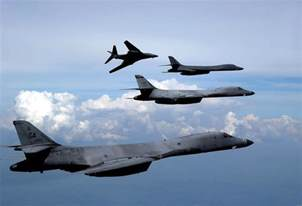 the aviationist 187 u s air force says b 1s were not