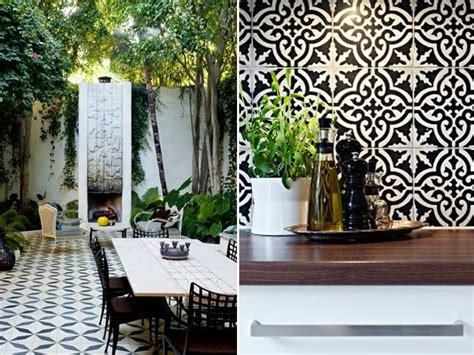 Kitchen Renovation Idea geometric 3d tiles elements at home