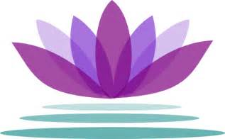 Clipart Lotus Flower Purple Lotus Flower With Water Clip At Clker