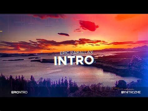 epic intro template after effects template epic intro
