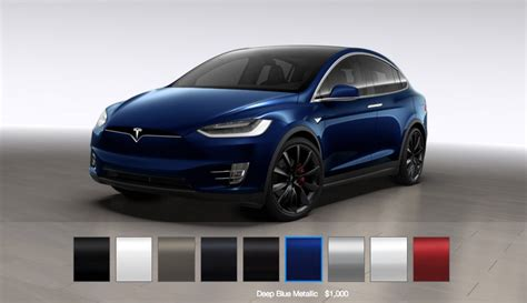 Blue Tesla Model X by Deciding On Your Tesla Model X Configuration