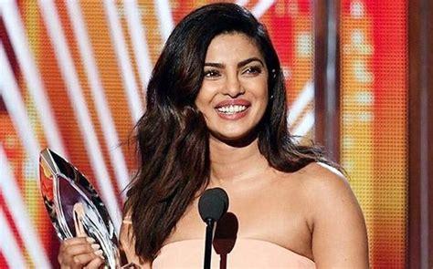 priyanka chopra english speech priyanka chopra on winning her second people s choice
