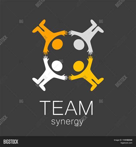 team logo templates team sign vector template idea vector photo bigstock