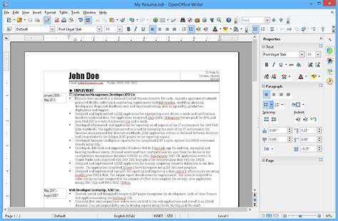 Open Office Review by Openoffice Org 4 1 4 Free Freewarefiles