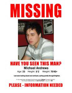 You Seen Me Template by Missing Person Poster You Seen Me Www Imgkid
