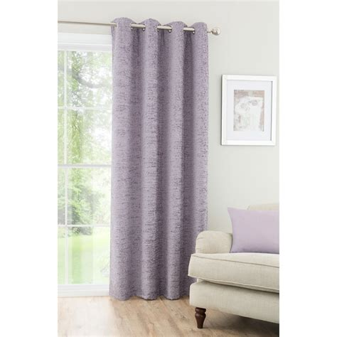 chenille curtain panels textured chenille unlined curtain panel 54 x 86 quot home b m