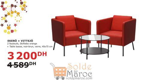 fauteuil ikea maroc soldes ikea maroc 2 fauteuils table basse ekero visttsjo