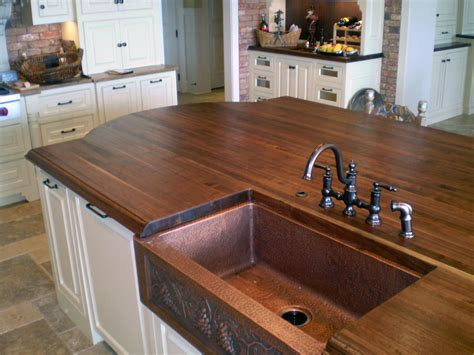 Kitchen Island Butcher Block walnut countertops j aaron