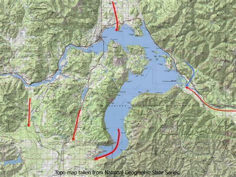 pend oreille river boat launch map missoula flood gallery