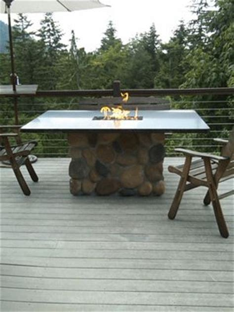 how to build a propane pit how to build a propane pit dining table backyard